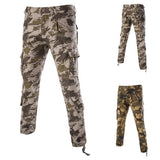 Men's Fashion Camouflage Casual Cargo Pants