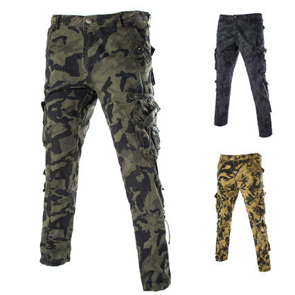 Military Style Men's Fashion Camouflage Cargo Pants