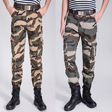 Military Men Fashion Camouflage Cargo Pants
