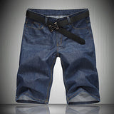 Relaxed Fit Men's Denim Shorts