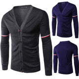 French Men's Designer Fashion Cardigan