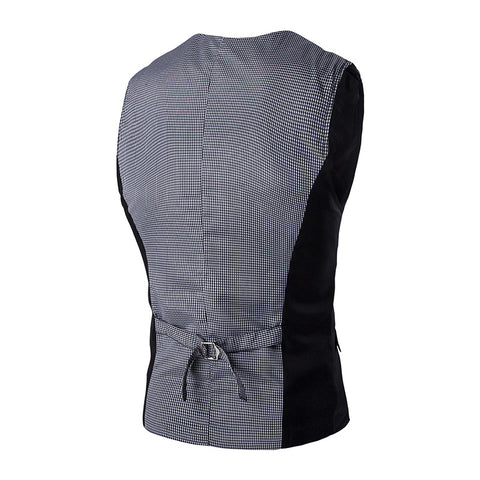 Three Buttons Slim Fit Fashion Vest