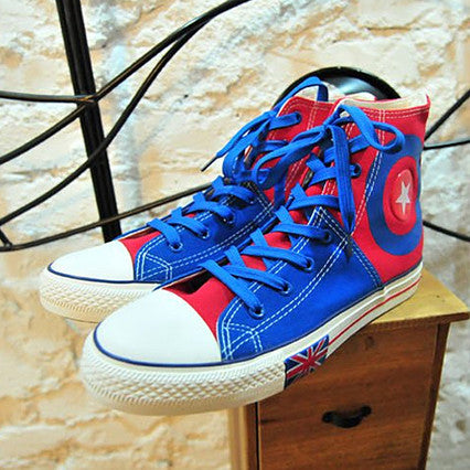 UK Red White & Blue Sneakers