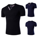 New Slim Fit V Neck T-Shirt