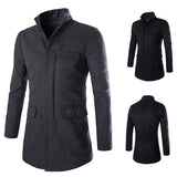Men's Winter Wool Coat