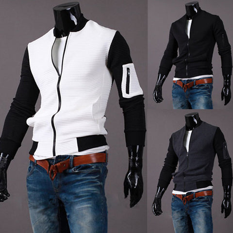 Urban Men's Fashion Style Varsity Jacket