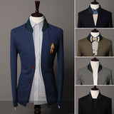 Two Button Men's Fashion Style Coat