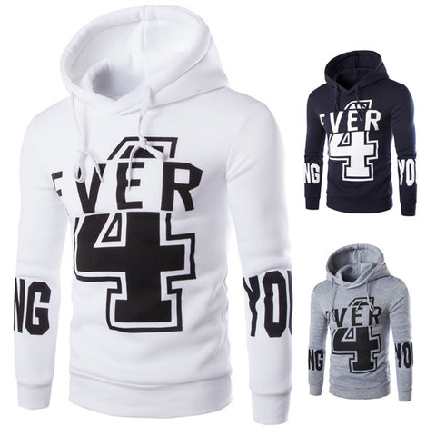 Slim Fit Men's Fashion Pullover Hoodie