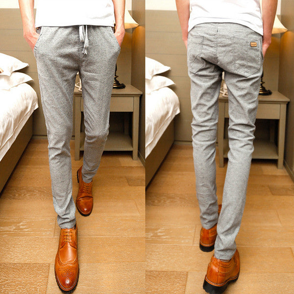 Slim Fit Casual Pants