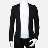 New Style Men's Fashion Open Cardigan