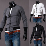 Slim Fit Men's Fashion Varsity Jacket