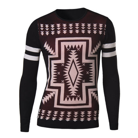 Slim Fit Men's Fashion Christmas Sweater
