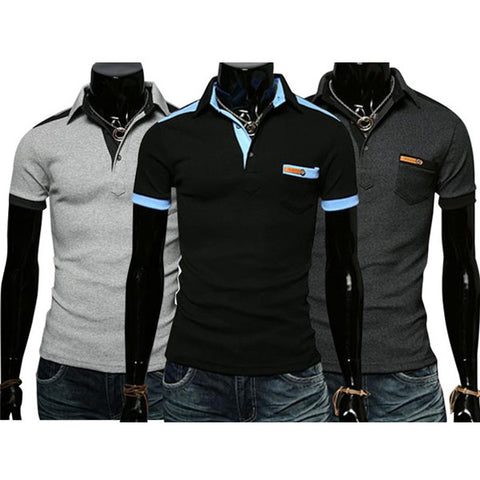 Slim Fit Men's Fashion Polo Tee