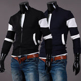 Color Contrast Varsity Jacket