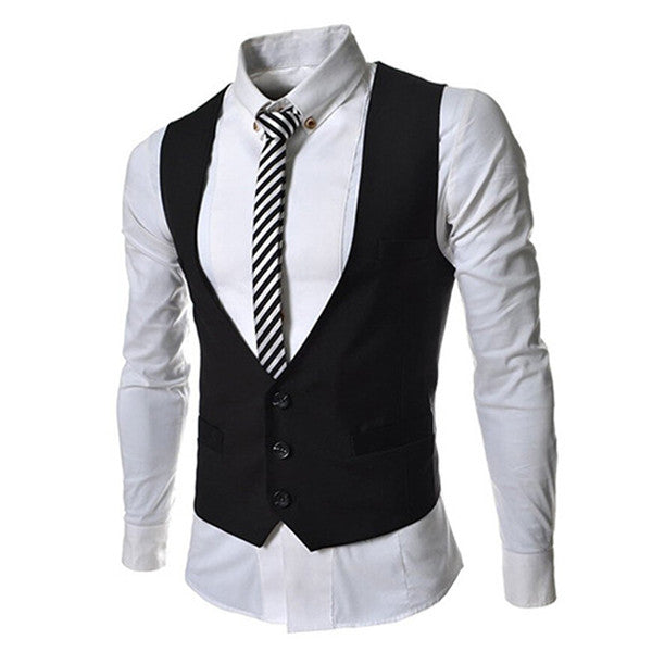 Three Buttons Slim Fit Men