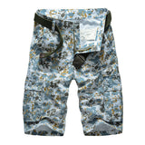 Printed Men's Cargo Shorts