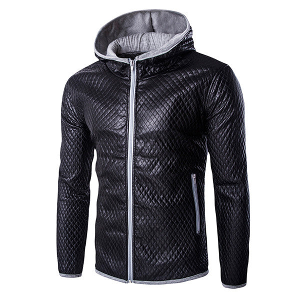Quilted Zip Up Men