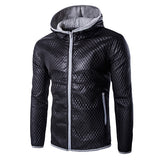 Quilted Zip Up Men's Fashion Jacket