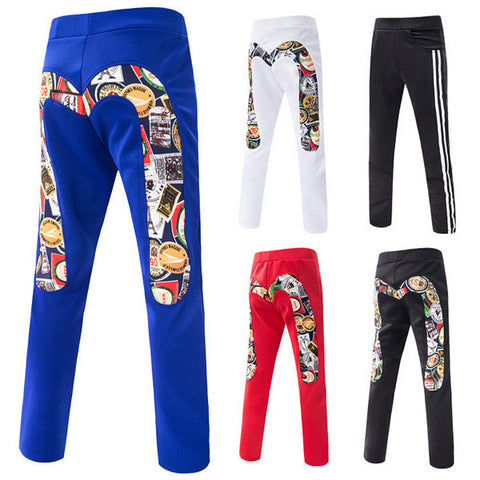 Sporty Men's Casual Pants
