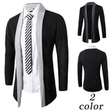 Men's Fashion Long Open Cardigan