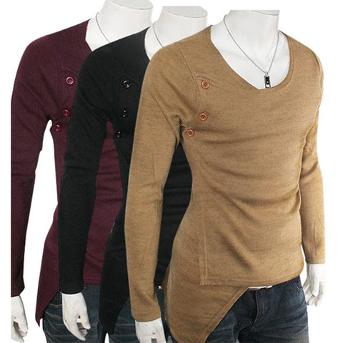 New Designer Slim Fit Knitted Sweater