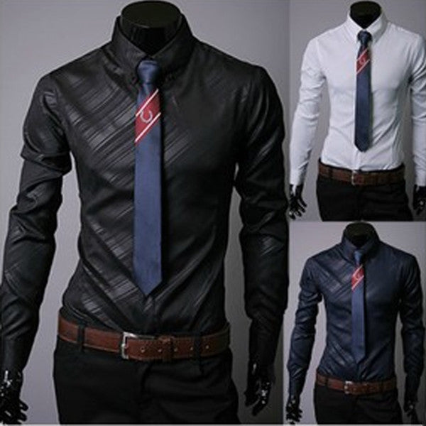 Slim Fit New Pattern Design Men