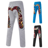 New Pattern Print Design Casual Pants
