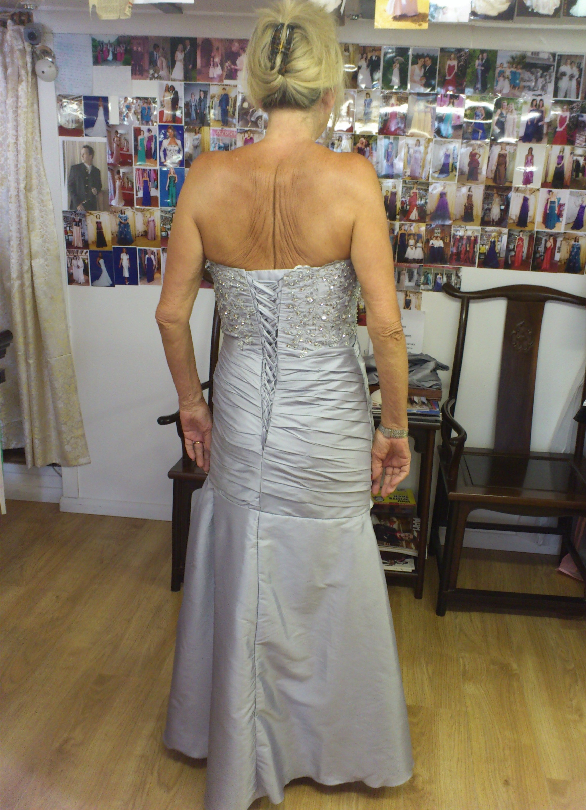 Bespoke Second marriage outfit