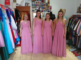 Chifon V neck Bridesmaids dresses