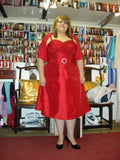 Plus size birthday party dress