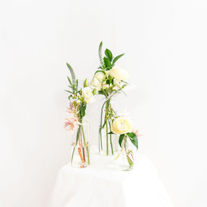 Bud Vase Trio - Neutral
