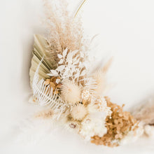 Load image into Gallery viewer, Monica Neutral Dried Wreath