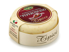 Cow and sheep milk cheese with red pepper 180g