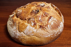 Fresh Altamura bread 400g around