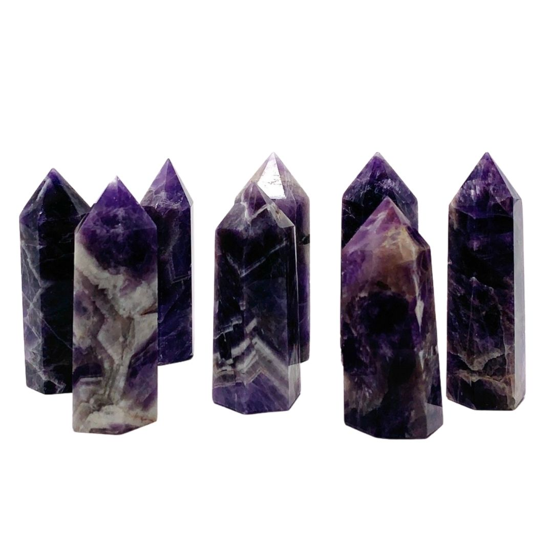 Amethyst Stone Points