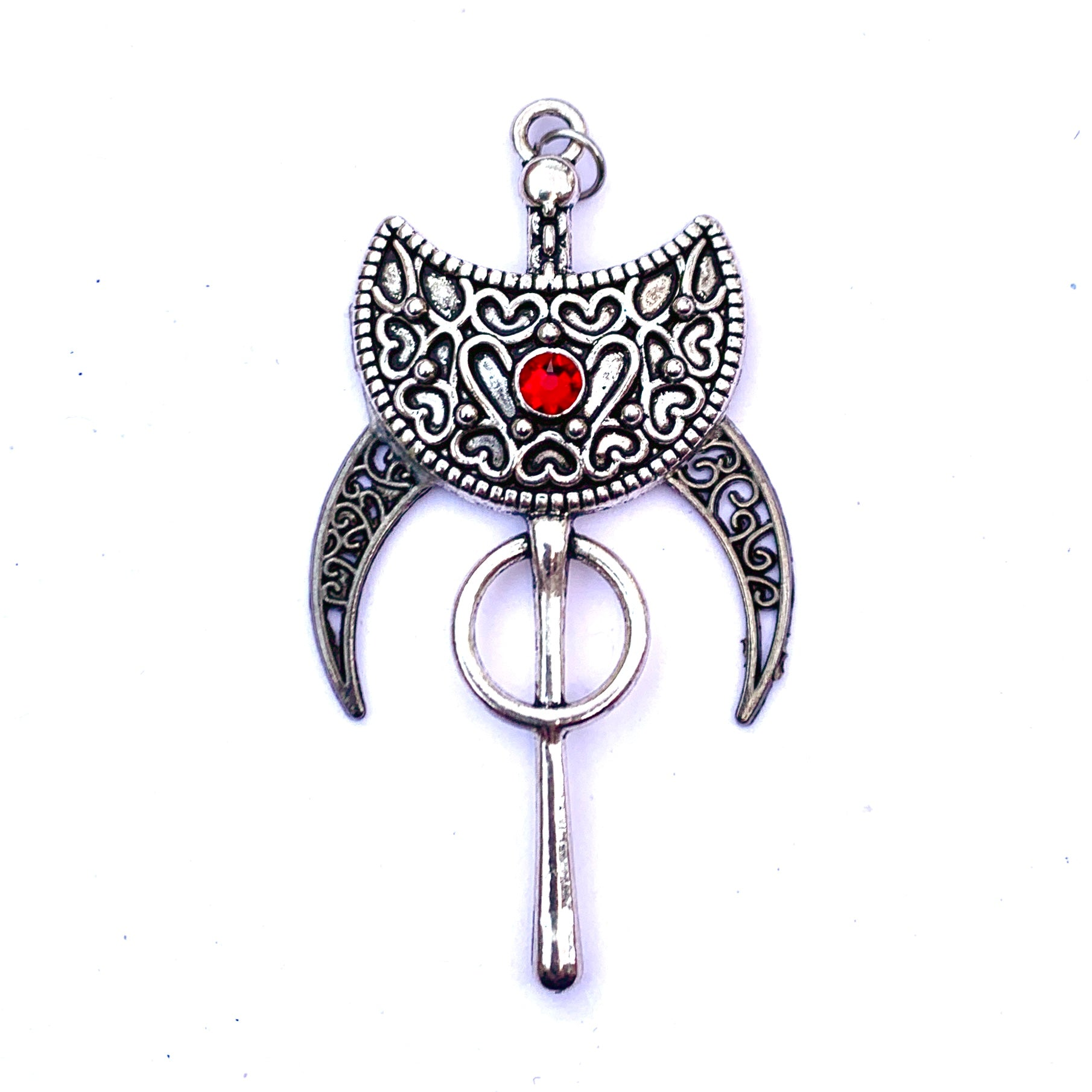 Dark Love ~ Shield Talisman Pendant