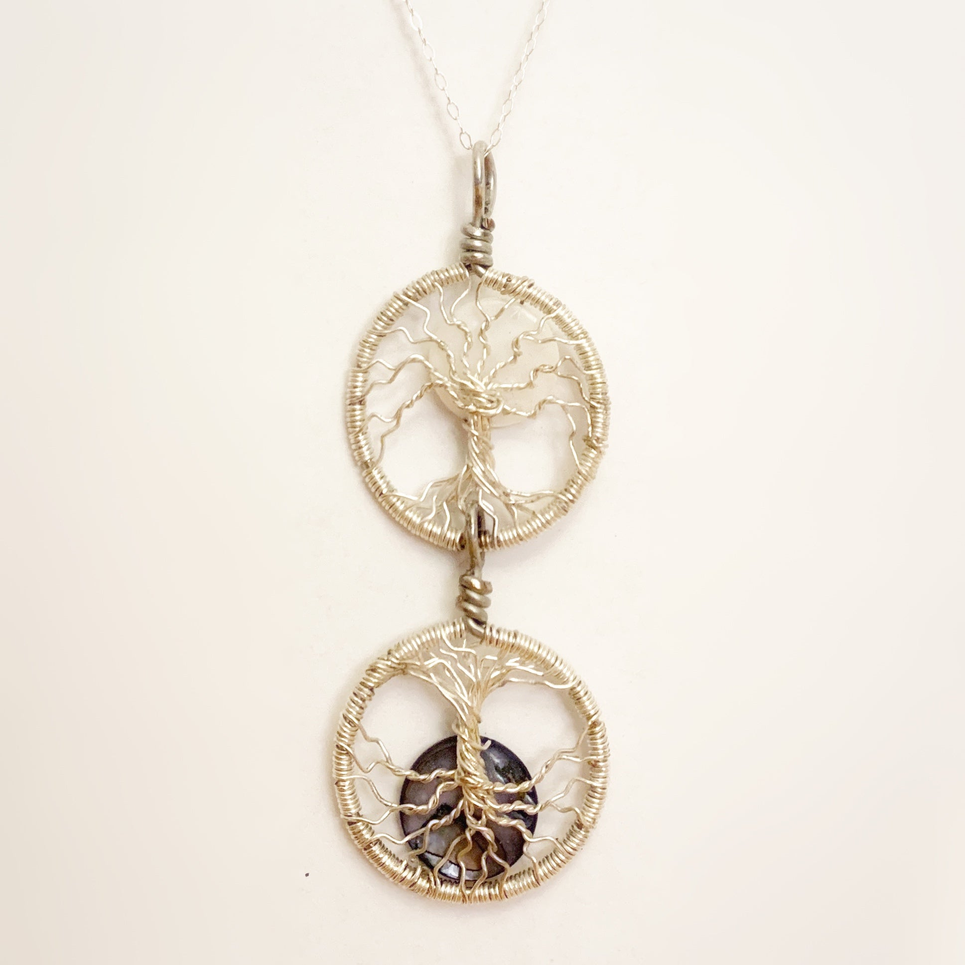 Double Tree of Life Pendant ~ As Above, So Below