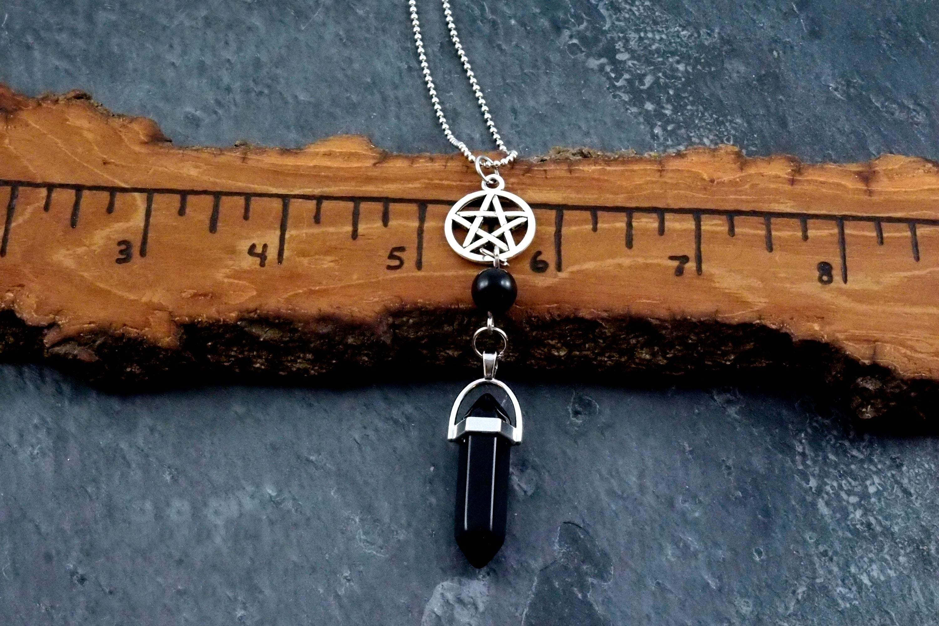 Pentagram Stone Point Talisman