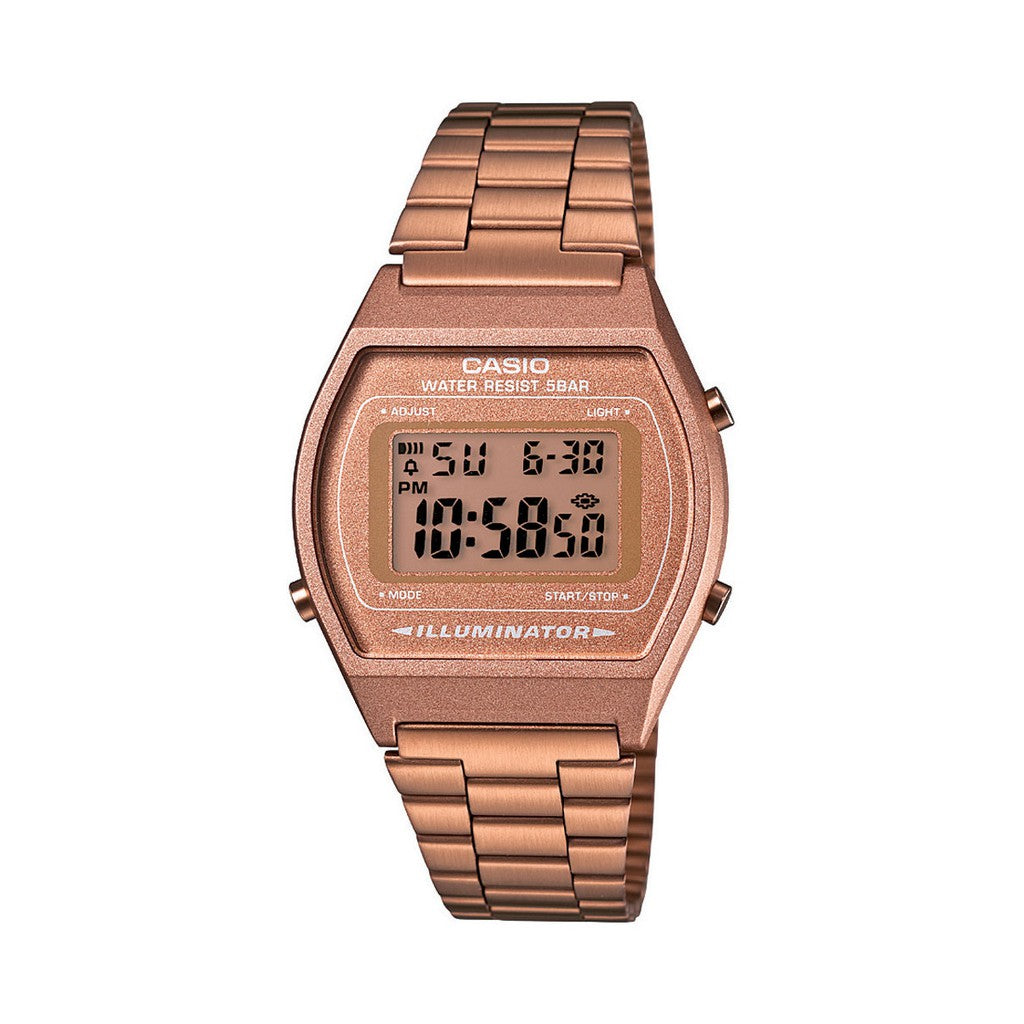 Casio Watch for Women B640WC-5ADF Rose Gold Stainless