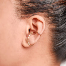 Load image into Gallery viewer, Hajime Yellow Gold Earcuff