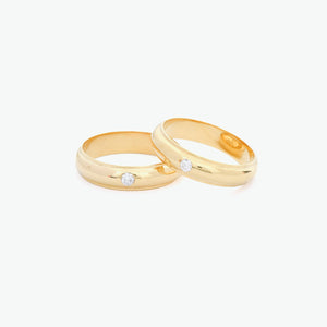 Amore Wedding Rings