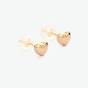 Hestia Heart Stud Earrings