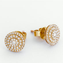Load image into Gallery viewer, Reyna Diamond Earrings - Yellow Gold