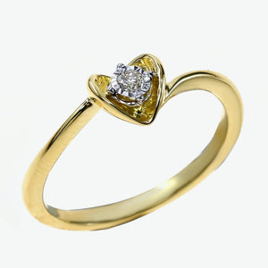 Hera Engagement Ring - Yellow Gold