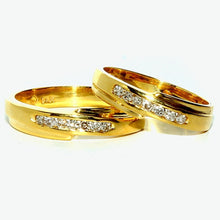 Load image into Gallery viewer, Carino Wedding Rings