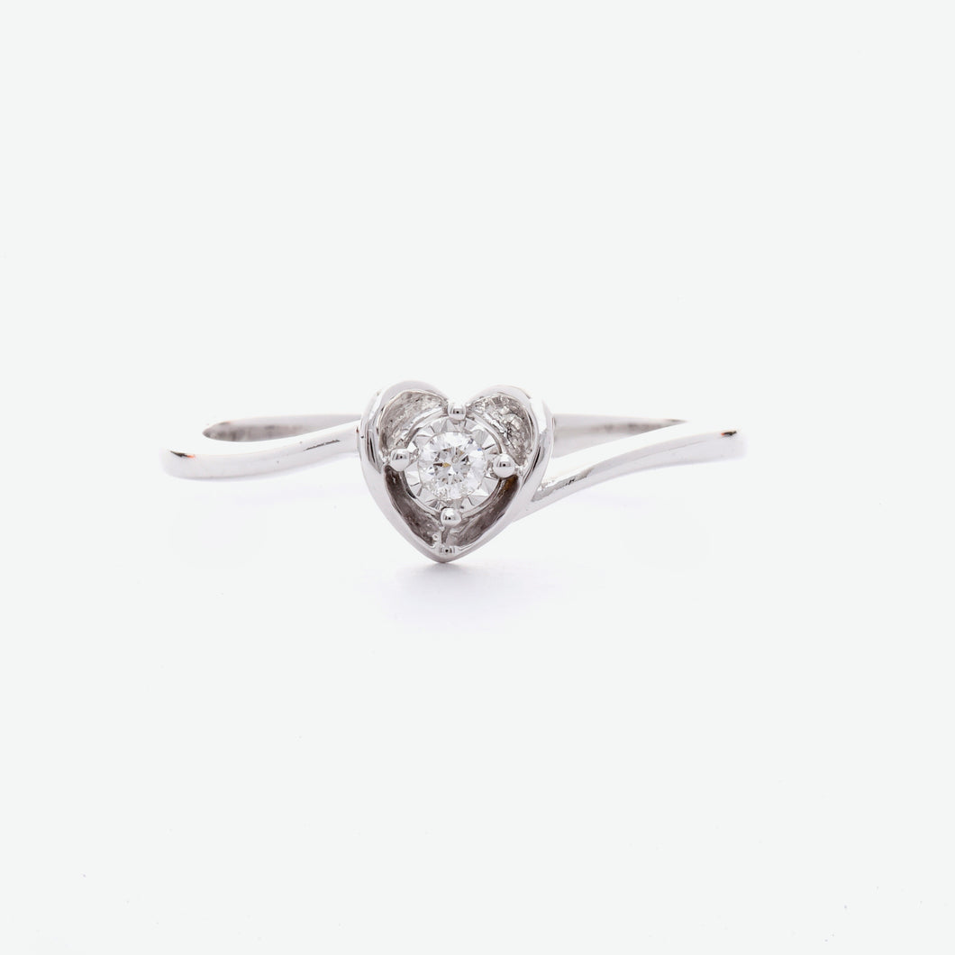Hera Engagement Ring - White Gold