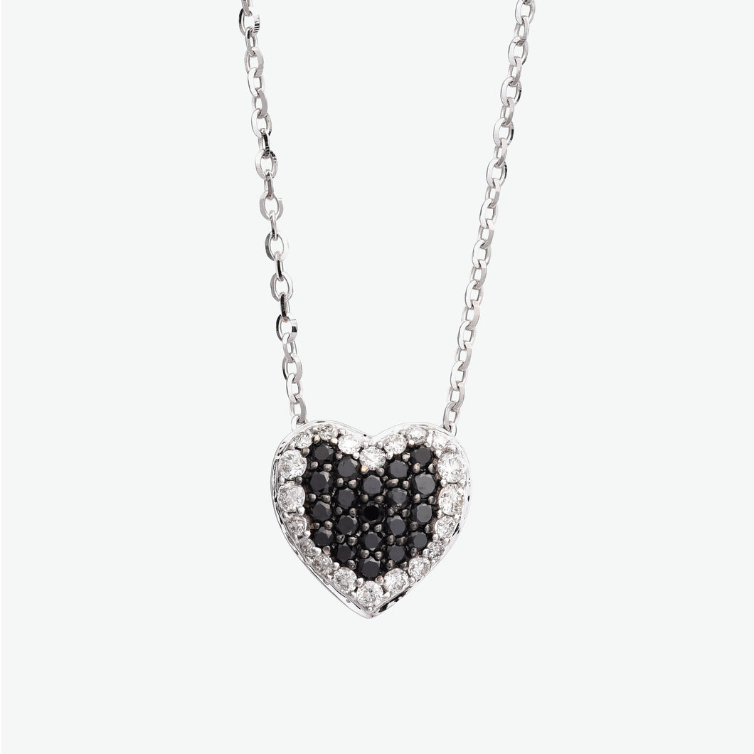 Ivy Black Diamond Necklace