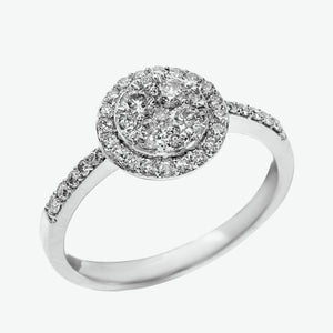 Bethany Diamond Ring - White Gold