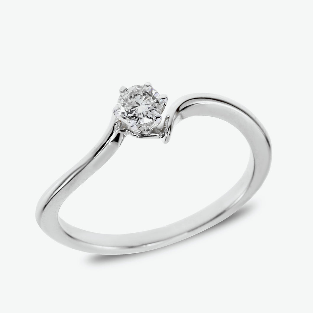 Isabela Engagement Ring-White Gold
