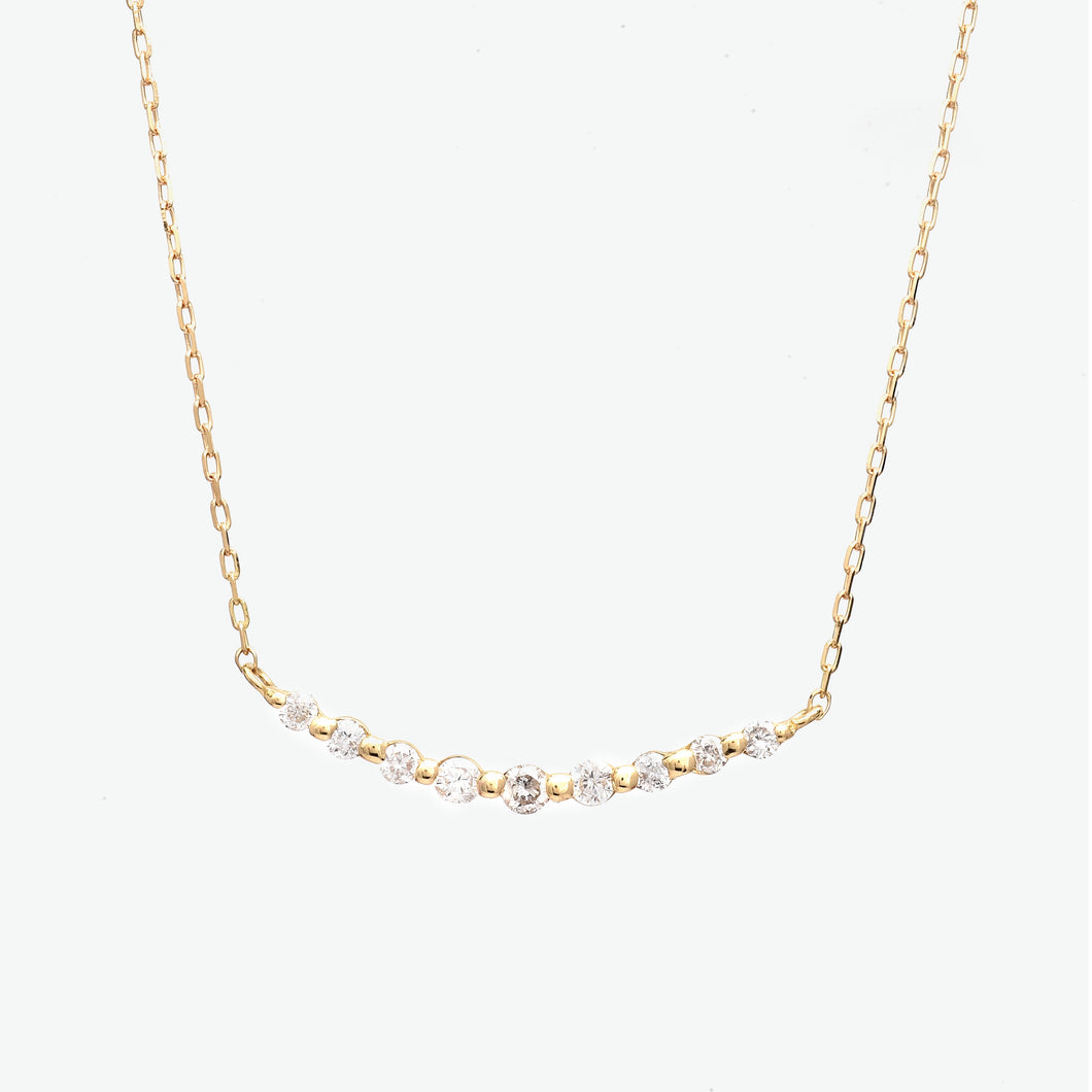 Mari Diamond Necklace